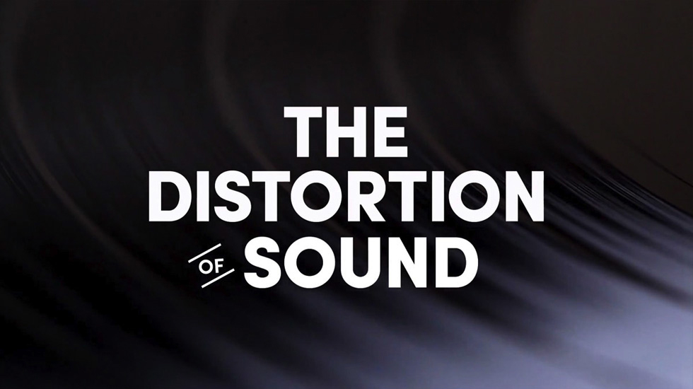 The distorsion of sound